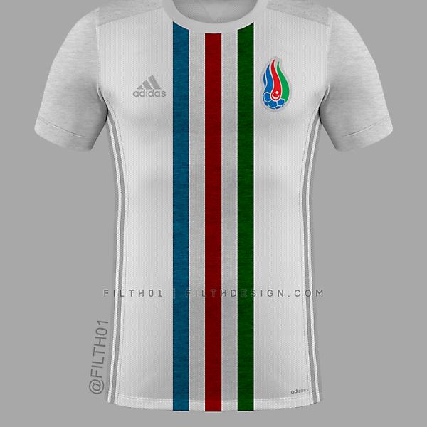 Azerbaijan Home Jersey