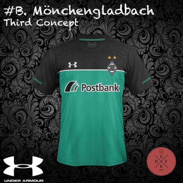 B. Monchengladbach Third Under Armor Concept