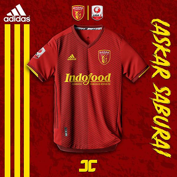 Badak Lampung FC x ADIDAS x Liga 2