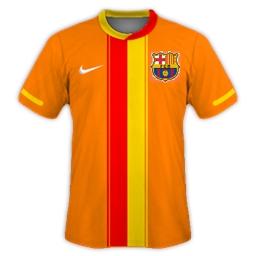 Barcelona Away 2012/13
