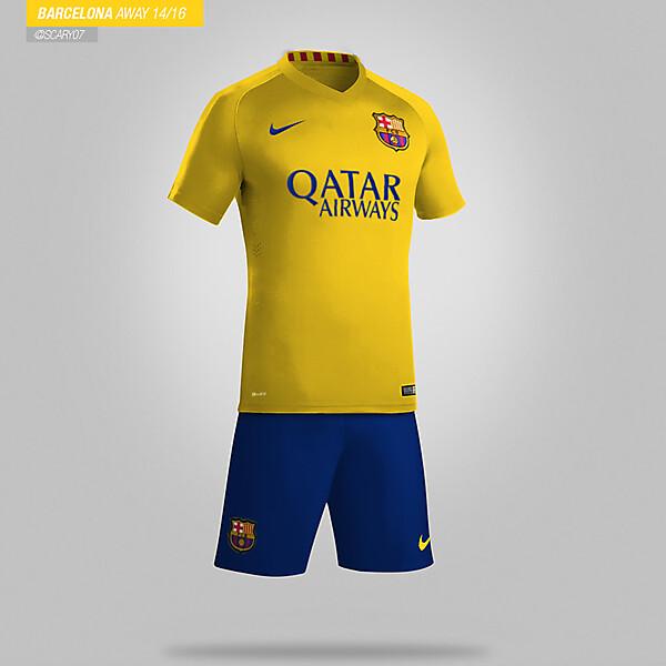 Barcelona - Away 15/16