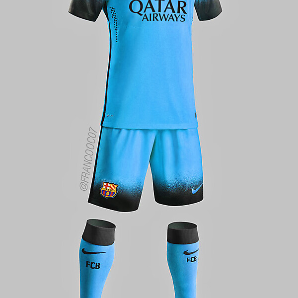 Barcelona - Third 15/16