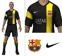 Barcelona 2014/15 Third Kit