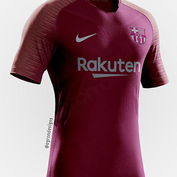 Barcelona 2018-19 Third Kit Prediction