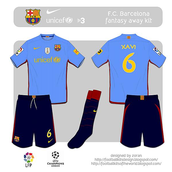 F.C. Barcelona fantasy away