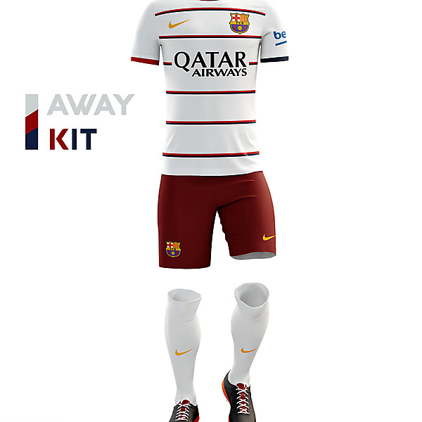Barcelona away kit 16/17