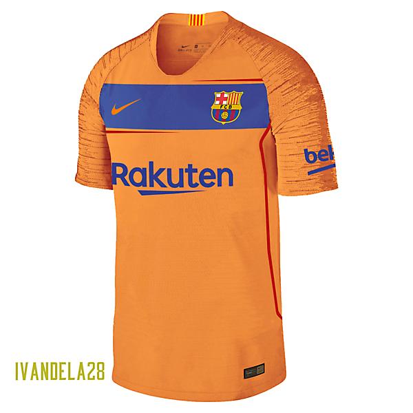 Barcelona Away Kit Nike