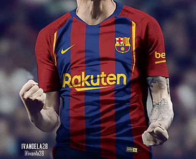 Barcelona Home Kit