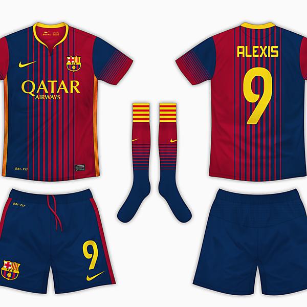 Barcelona Home Shirt - Nike
