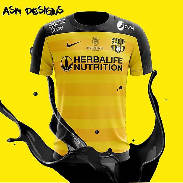 Barcelona S.C. Nike 2018 Home Kit