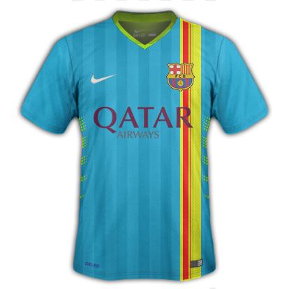Barcelona Third kit.