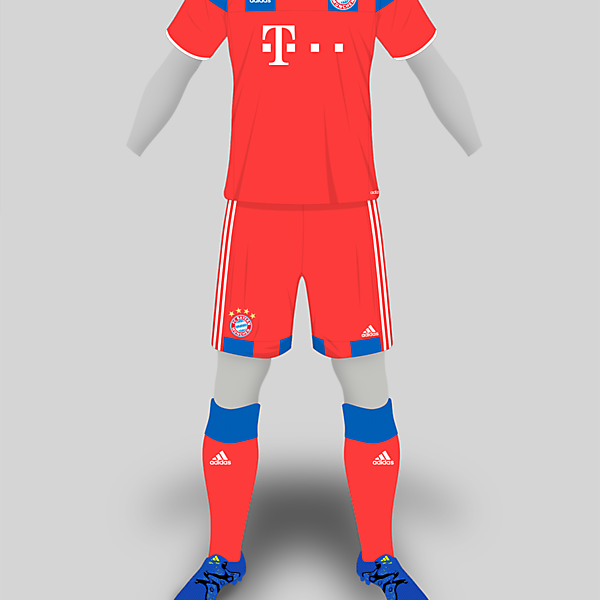 Bayern Adidas Home
