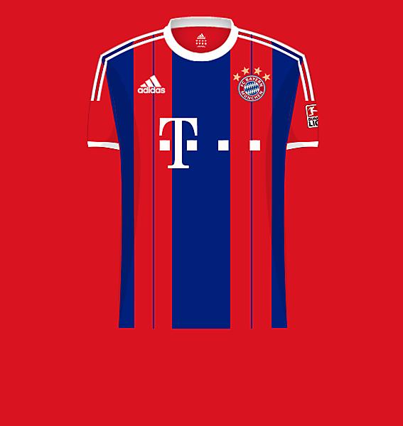 Bayern home 14-15.