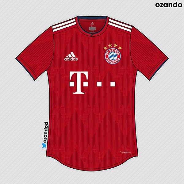 Bayern München x Adidas | 2019 Prediction