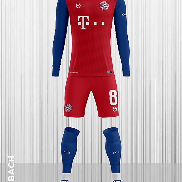 Bayern Munchen 2019-2020 Home Kit