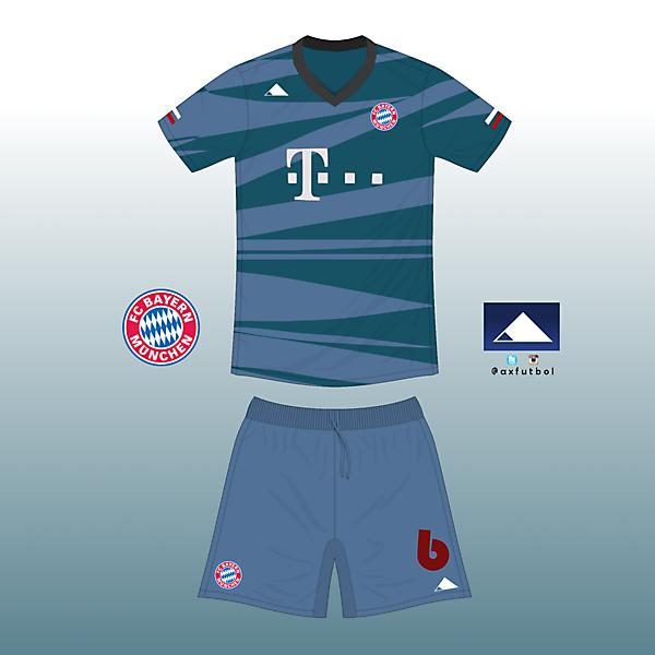 Bayern Munchen away home kit