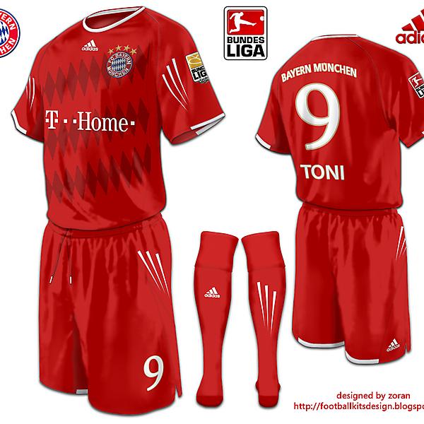 Bayern Munchen fantasy home