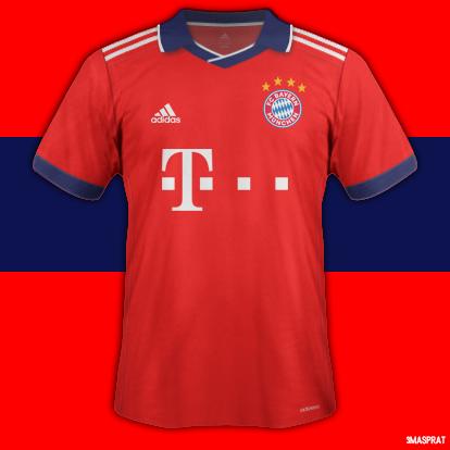 Bayern Munchen Home Fantasy Kit