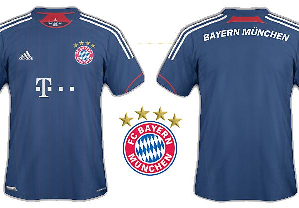 Bayern München third