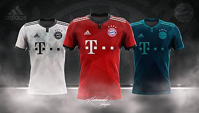 BAYERN MUNICH - Football Concept Kit 2018/2019