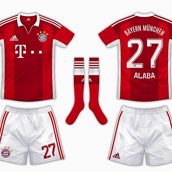 Bayern Munich Home Kit - Adidas