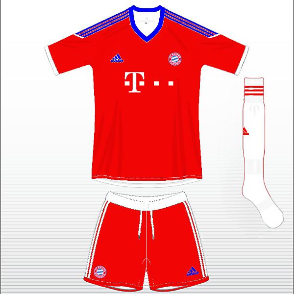 Bayern Munich Home  Kit