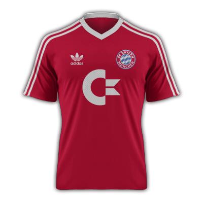 Retro Bayern Munich Kit