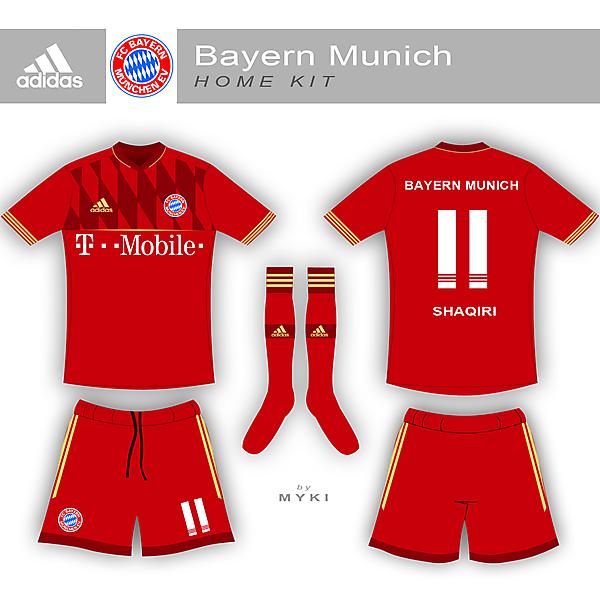 Bayern Munich Home and Away