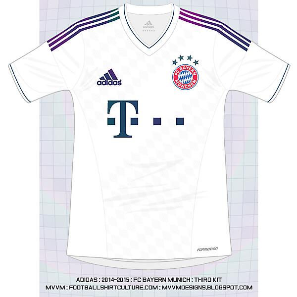 Adidas : Bayern Munich : UCL Third Shirt