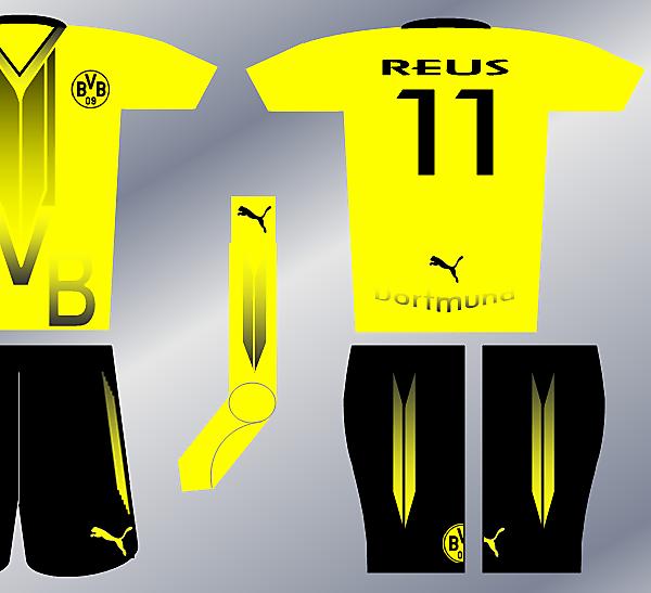 Puma Fantasy Kit - Borussia Dortmund Home