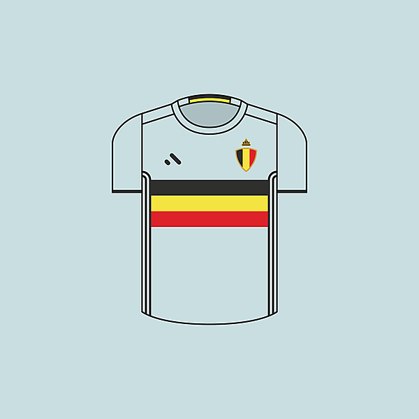 Belgium - Away / Minimalist