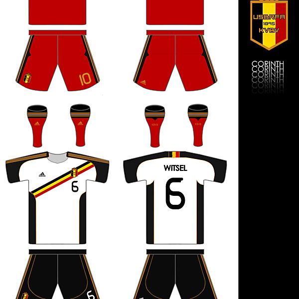 Belgium Adidas Home and Away Kits