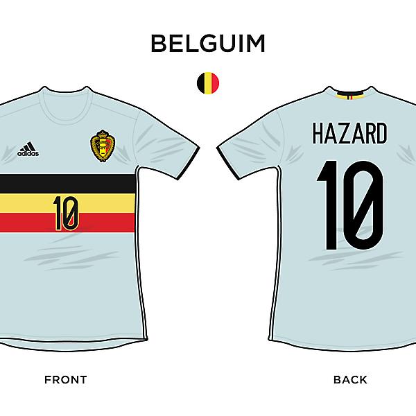 Belgium Away / Euro 2016