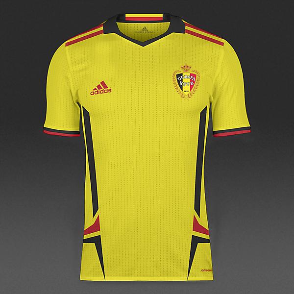 Belgium Away Kit Condivo 16