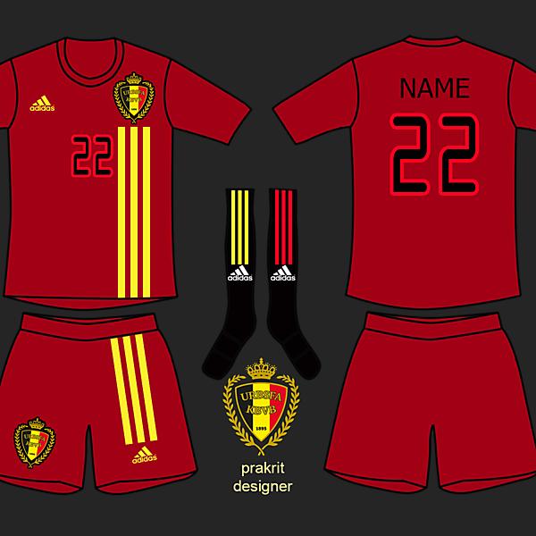Belgium Kits Home 2017