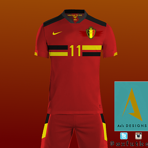 Belgium National Football Team.