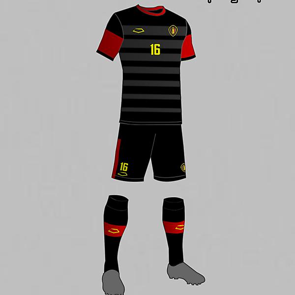 Belgium national football team third kit 2016