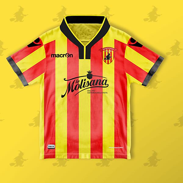 Benevento x Macron - Home