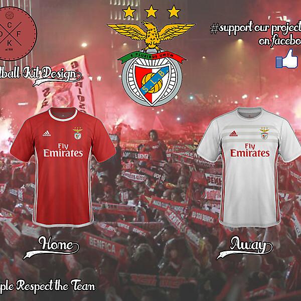 Benfica Adidas Concept 2016/2017