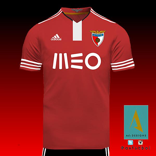 Benfica Adidas Home Kit