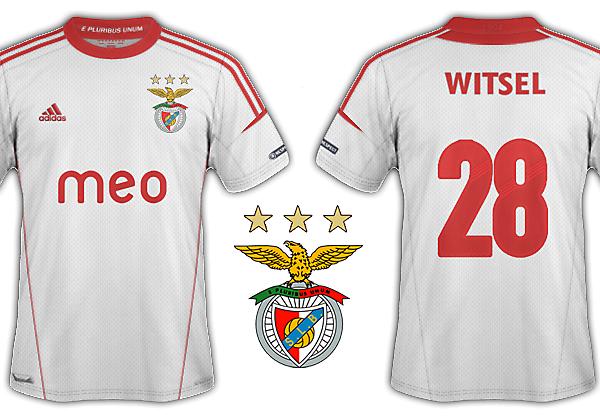 Benfica 2012-13 kits