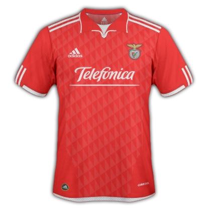 Benfica 2011/12 Home Shirt