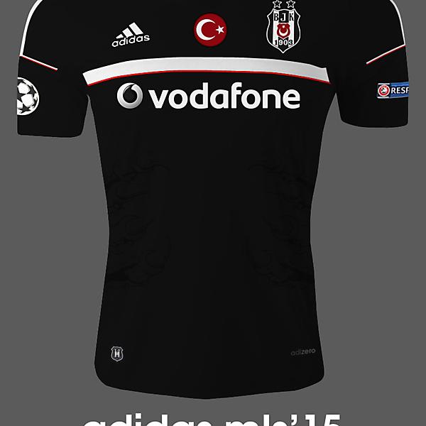Beşiktaş 16/17 Away
