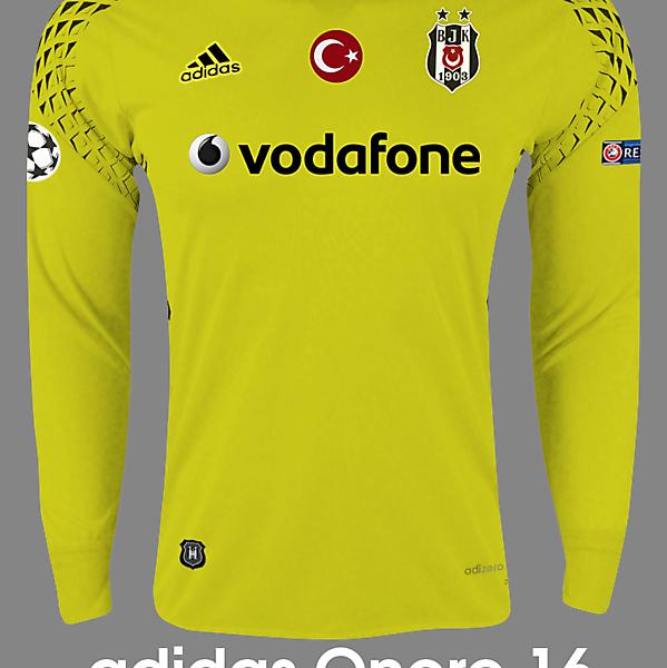 Beşiktaş 16/17 Goalkeeper