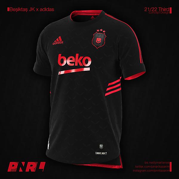 Beşiktaş JK 21/22 Third Concept x adidas