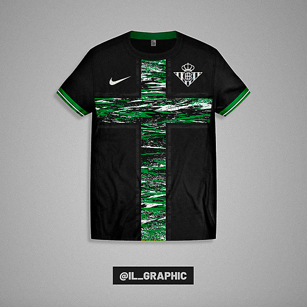 Betis Third Kit x Nike  - Paint Concept