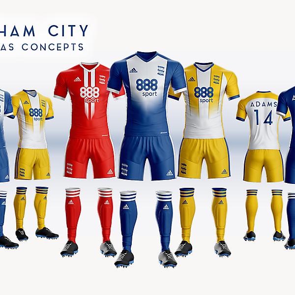 Birmingham City 18/19 Adidas Kit
