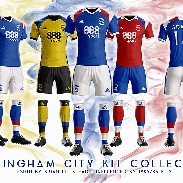 Birmingham City 2018/19 Kits