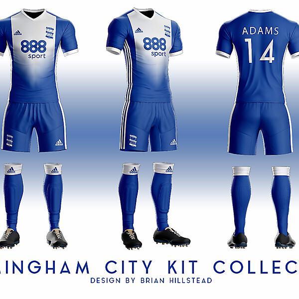 Birmingham City Adidas Concept 3