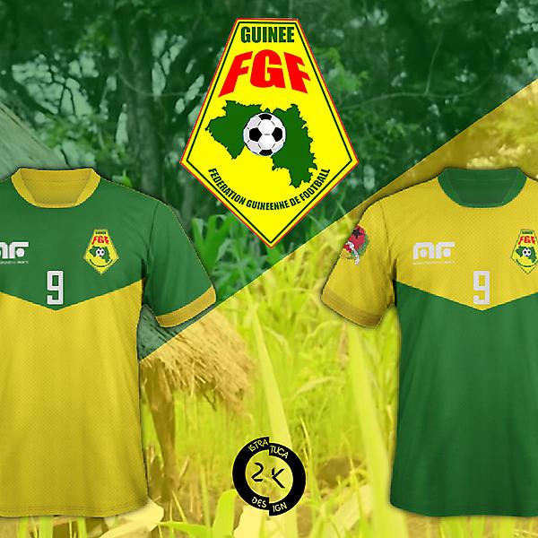 Bissau Guinea Kit